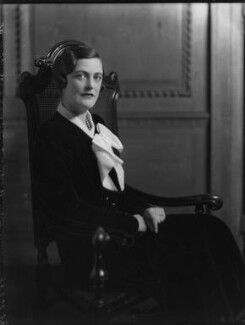Mary Spencer-Churchill (née Cadogan), Duchess of Marlborough, by Bassano Ltd, 30 November 1934 - NPG x81227 - © National Portrait Gallery, London