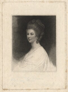 Charlotte Lennox (née Ramsay), by Francesco Bartolozzi, after  Sir Joshua Reynolds, published 1793 - NPG D13802 - © National Portrait Gallery, London