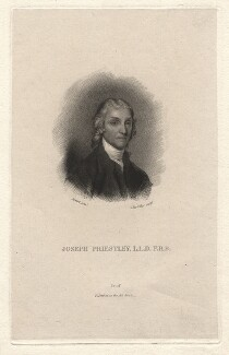 Joseph Priestley, by J. Partridge, after  Gilbert Stuart - NPG D13808