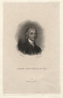 Joseph Priestley, by J. Partridge, after  Gilbert Stuart, late 18th century - NPG D13808 - © National Portrait Gallery, London