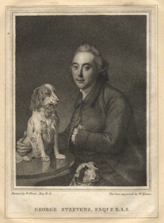 George Steevens, by William Evans, after  Johan Joseph Zoffany - NPG D13811