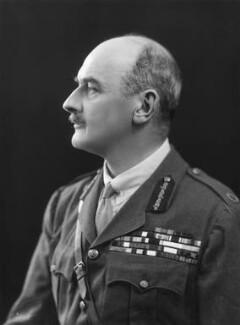 Edmund Henry Hynman Allenby, 1st Viscount Allenby, by Bassano Ltd - NPG x18139