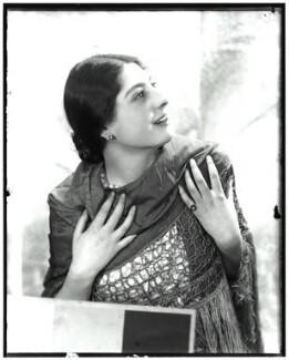 Elizabeth Annette Lee (née Solomon), by Madame Yevonde - NPG x125825