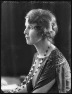 Princess Alexandra Pavlovna Galitzine, by Bassano Ltd, 7 November 1922 - NPG x122137 - © National Portrait Gallery, London
