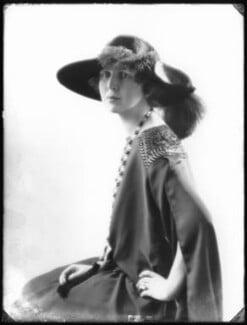 Princess Alexandra Pavlovna Galitzine, by Bassano Ltd, 7 November 1922 - NPG x122138 - © National Portrait Gallery, London