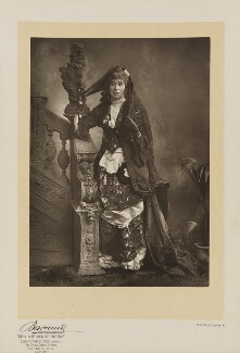 Adeline, Countess of Cardigan and Lancastre, by Herbert Rose Barraud, published by  Eglington & Co - NPG Ax5537
