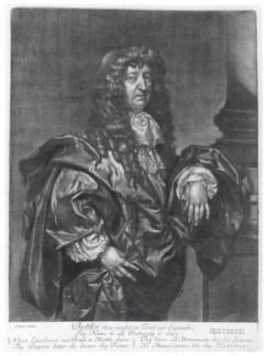 Samuel Butler, published by Edward Cooper, after  Gilbert Soest, circa 1680 - NPG D20049 - © National Portrait Gallery, London