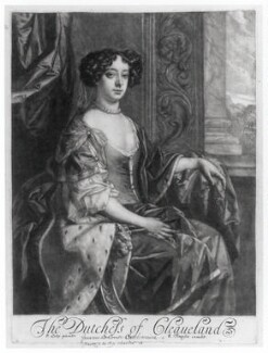 Barbara Palmer (née Villiers), Duchess of Cleveland, published by Richard Tompson, after  Sir Peter Lely, 1678-1679 - NPG D20377 - © National Portrait Gallery, London