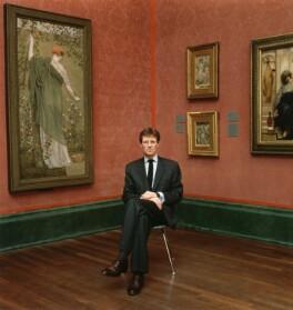 Sir Nicholas Andrew Serota, by Emily Andersen, 1997 - NPG x125860 - © Emily Andersen