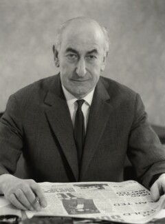 Sidney Jacobson, Baron Jacobson, by Rex Coleman, for  Baron Studios - NPG x125956