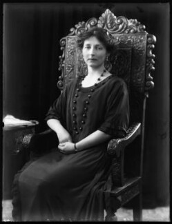 Winifred Vivian (née Hamilton), Lady Swansea, by Bassano Ltd - NPG x122164