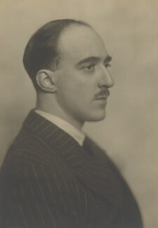 Henry Canova Vollam ('H.V.') Morton, by Walter Benington - NPG P977