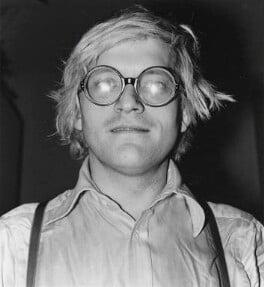 David Hockney, by Johnny Dewe-Mathews - NPG x16130