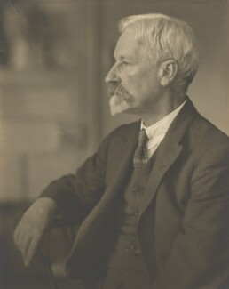 Henry Woodd Nevinson, by Walter Benington - NPG P978