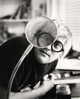 David Hockney, by Godfrey Argent, 29 May 1969 - NPG  - © National Portrait Gallery, London