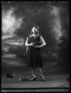 Daisy Burrell, by Bassano Ltd - NPG x122165