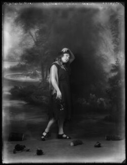 Daisy Burrell, by Bassano Ltd - NPG x122167