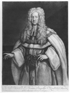 Sir Thomas Pengelly, by John Faber Jr, after  James Worsdale, 1730 - NPG D19835 - © National Portrait Gallery, London