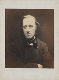 (William) Edward Hartpole Lecky, by Julia Margaret Cameron - NPG P987