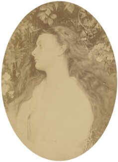 'Alethea' (Alice Liddell), by Julia Margaret Cameron, 1872 - NPG P988 - © National Portrait Gallery, London