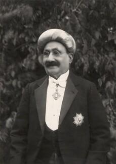 Sir Ibrahim Rahimtoola, by Habib Ibrahim Rahimtoola - NPG x21980