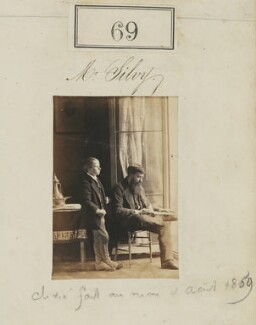 Camille Silvy with a boy, by Camille Silvy - NPG Ax50057