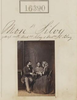Camille Silvy; (Louise Marie Elisabeth Lucie) Alice Silvy (née Monnier); Marie-Louise Silvy (née Pied), by Camille Silvy - NPG Ax64303