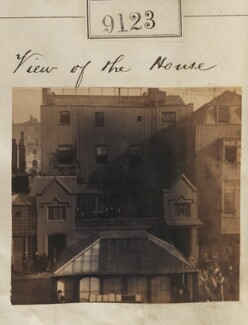 View of Camille Silvy's photographic studio, 38 Porchester Terrace, by Camille Silvy - NPG Ax58945