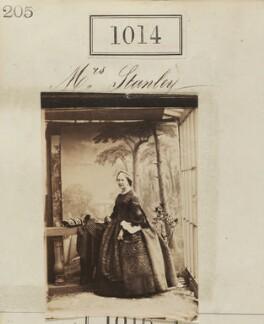 Hon. Ellen Stanley, by Camille Silvy - NPG Ax50546