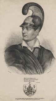 George Gordon Byron, 6th Baron Byron, by François Simonau, for  Joseph Bouvier, published by  Adam Friedel - NPG D13785