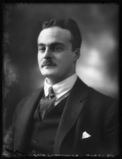Robert Walter Shirley, 12th Earl Ferrers, by Bassano Ltd - NPG x122222
