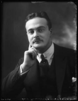 Robert Walter Shirley, 12th Earl Ferrers, by Bassano Ltd - NPG x122223