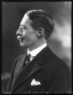 Lawrence John Lumley Dundas, 2nd Marquess of Zetland, by Bassano Ltd - NPG x122266
