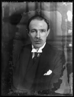Edward Frederick Lindley Wood, 1st Earl of Halifax, by Bassano Ltd - NPG x122272