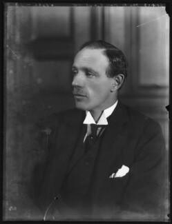Edward Frederick Lindley Wood, 1st Earl of Halifax, by Bassano Ltd - NPG x122273