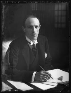 Edward Frederick Lindley Wood, 1st Earl of Halifax, by Bassano Ltd - NPG x122274