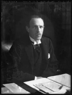 Edward Frederick Lindley Wood, 1st Earl of Halifax, by Bassano Ltd - NPG x122275