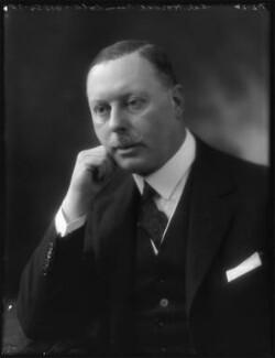 Sir Horace George Montagu Rumbold, 9th Bt, by Bassano Ltd - NPG x122290