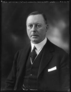 Sir Horace George Montagu Rumbold, 9th Bt, by Bassano Ltd - NPG x122291