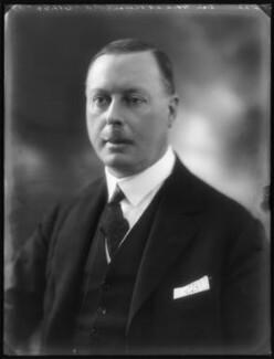 Sir Horace George Montagu Rumbold, 9th Bt, by Bassano Ltd - NPG x122292
