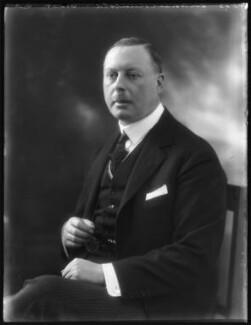Sir Horace George Montagu Rumbold, 9th Bt, by Bassano Ltd - NPG x122293