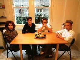 New Order (Gillian Gilbert; Stephen Morris; Peter Hook; Bernard Sumner), by Steve Speller - NPG x87439