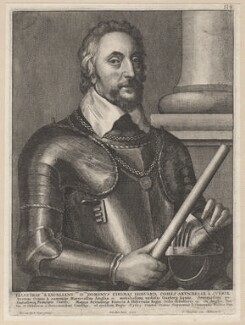 Thomas Howard, 14th Earl of Arundel, by Wenceslaus Hollar, after  Sir Anthony van Dyck - NPG D7968