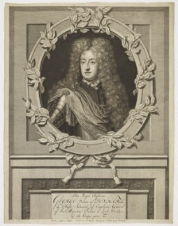 Prince George of Denmark, Duke of Cumberland, by Pieter Stevens van Gunst, after  Unknown artist, published circa 1702-1714 - NPG D17876 - © National Portrait Gallery, London