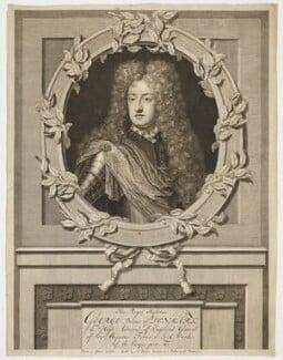 Prince George of Denmark, Duke of Cumberland, by Pieter Stevens van Gunst, after  Unknown artist, published circa 1702-1714 - NPG D17876 - © National Portrait Gallery, London