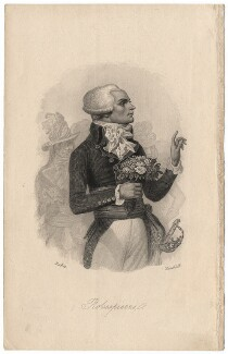 Maximilien François Marie Isidore de Robespierre, by John James Hinchcliff, after  Denis Auguste Marie Raffet - NPG D13754