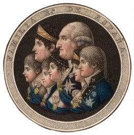 Familia Real de España, by Unknown artist - NPG D13751