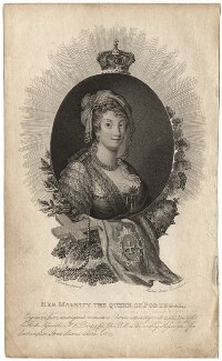 Maria I, Queen of Portugal, by Marie Anne Bourlier, probably after  Daniel Valentine Rivière - NPG D13757