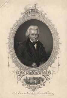 Andrew Jackson, by W. Joseph Edwards, after  John W. Dodge - NPG D13762