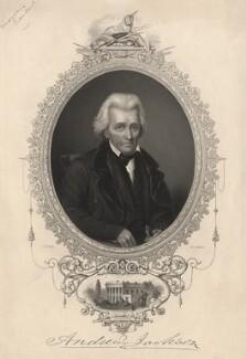 Andrew Jackson, by W. Joseph Edwards, after  John W. Dodge - NPG D13762